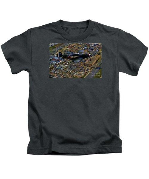 Yakovlev Yak 3 Soviet - Oil Kids T-Shirt