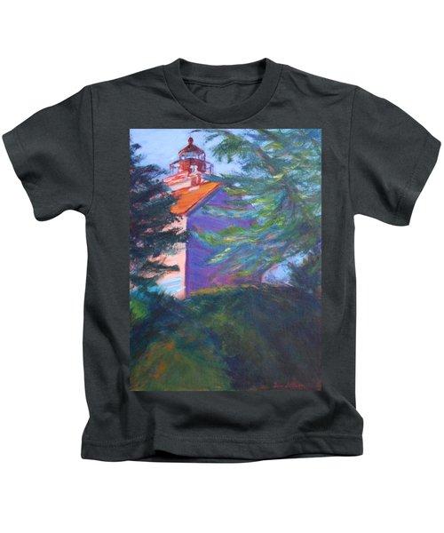 Yaquina Bay Lighthouse  Kids T-Shirt