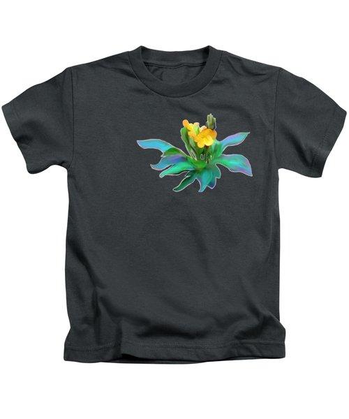 Yellow Kankaambaram Kids T-Shirt