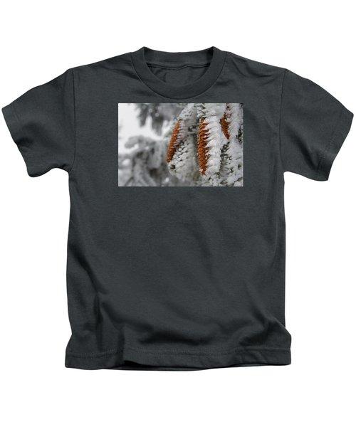 Yep, It's Winter Kids T-Shirt