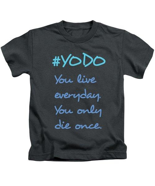 #yodo Customizable Choose Colour Kids T-Shirt