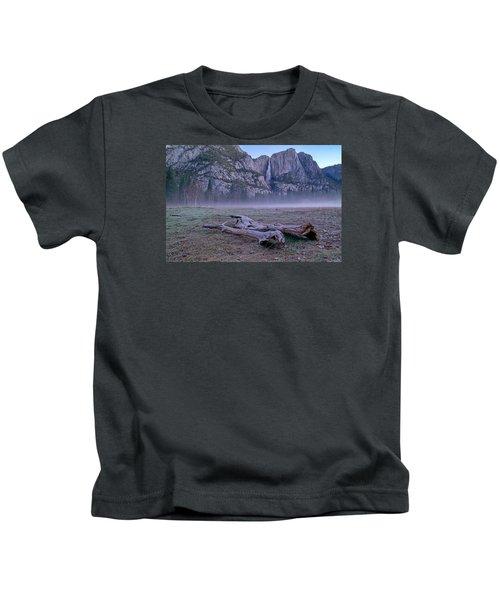 Yosemite Falls Driftwood Kids T-Shirt