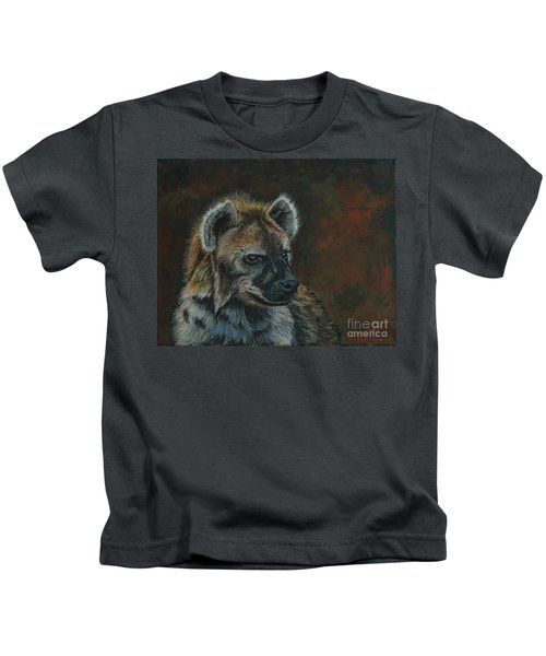 You Don't See Me Laughing......hyena Kids T-Shirt