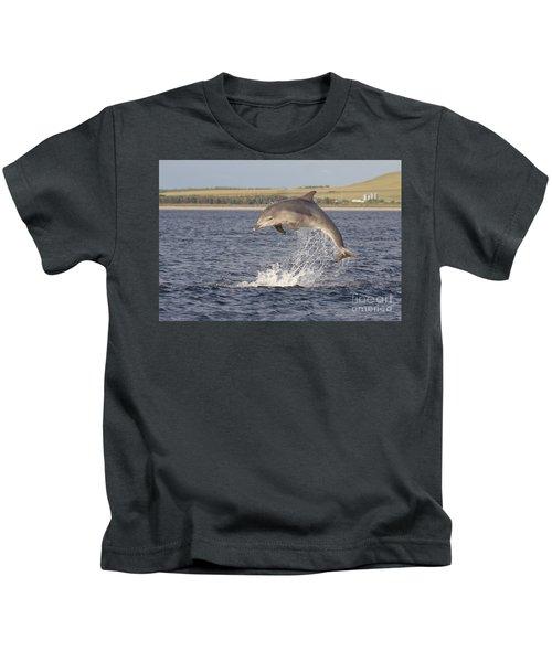 Young Bottlenose Dolphin - Scotland #13 Kids T-Shirt