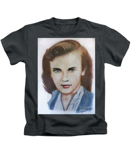 Young Elizabeth  Kids T-Shirt