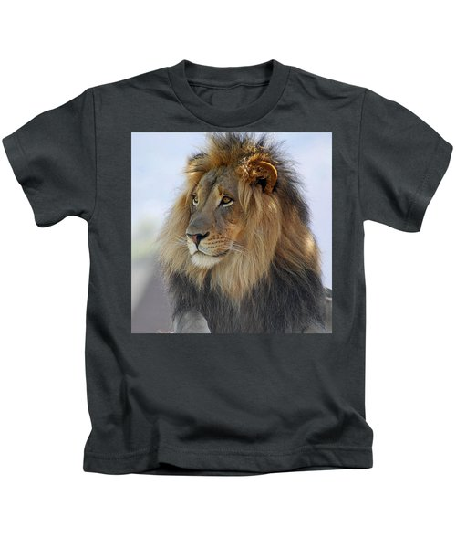 Young Male Lion Kids T-Shirt