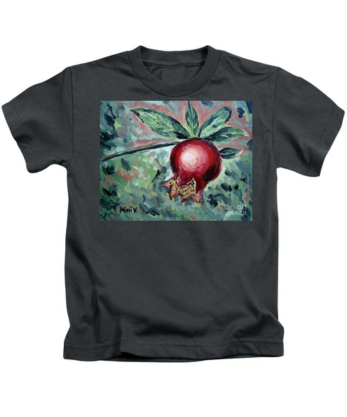 Young Pomegranate Kids T-Shirt