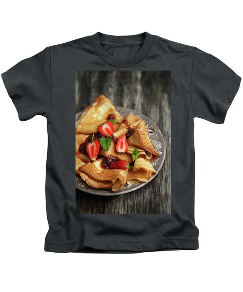 Your Pancakes Are Poetry Kids T-Shirt