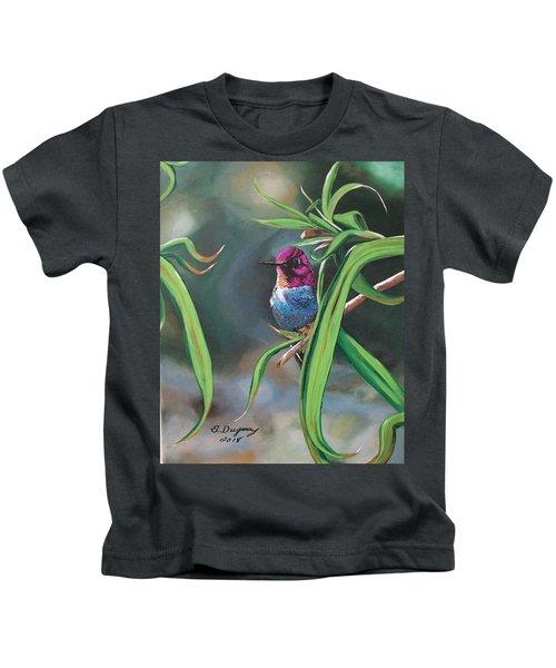 Yuma Hummer  Kids T-Shirt
