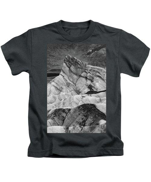Zabriskie Point Black And White Kids T-Shirt