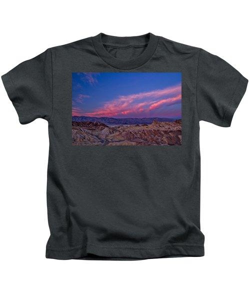 Zabriskie Point Dawn - Death Valley Kids T-Shirt
