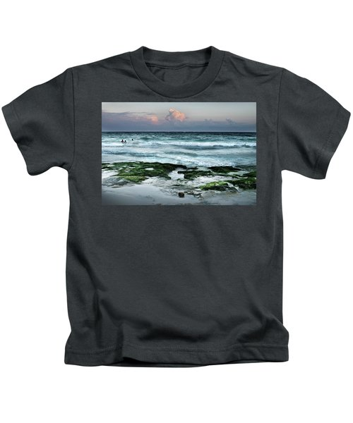 Zamas Beach #7 Kids T-Shirt