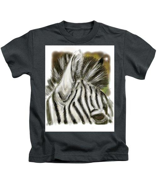 Zebra Digital Kids T-Shirt