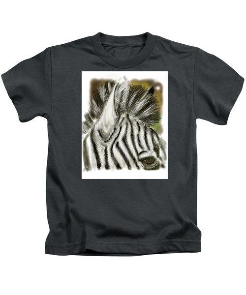 Zebra Digital Kids T-Shirt