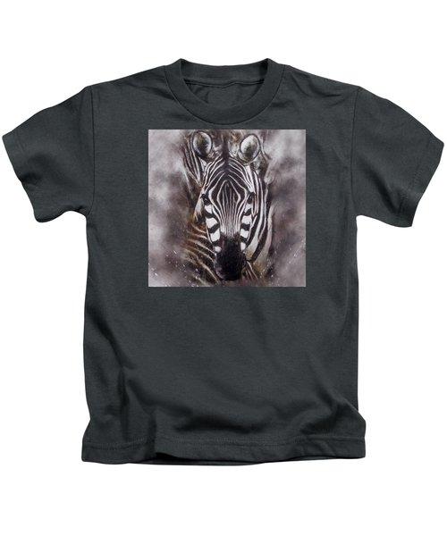 Zebra Splash Kids T-Shirt