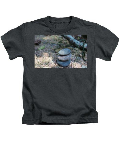 Zen Stones Kids T-Shirt