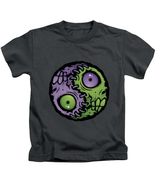 Zombie Yin-yang Kids T-Shirt