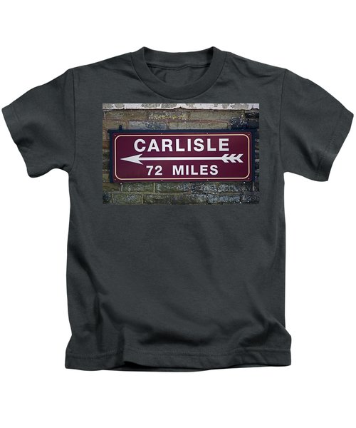 06/06/14 Settle. Period Destination Board. Kids T-Shirt