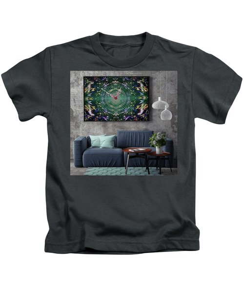 Abstract Cherry Blossom Kids T-Shirt