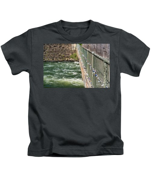 Augusta Canal Headgates - Augusta Ga Kids T-Shirt