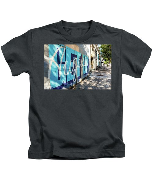 Broad Street Downtown Augusta Ga Kids T-Shirt