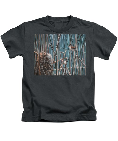 Cattail Hideaway Kids T-Shirt