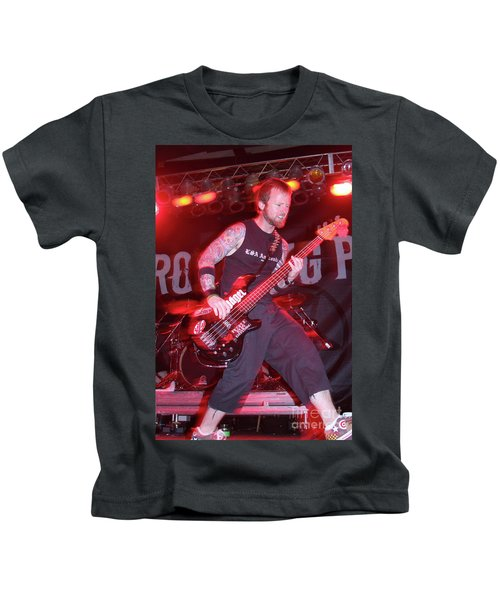 Drowning Pool Stevie Benton Kids T-Shirt