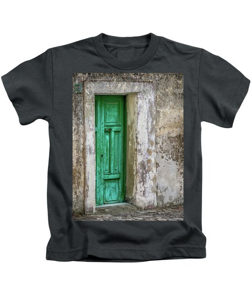 Green Door 2 Kids T-Shirt