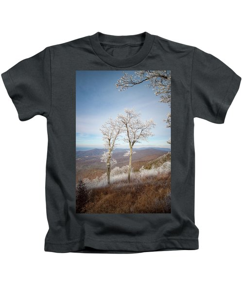 Hoarfrost Gathers Kids T-Shirt