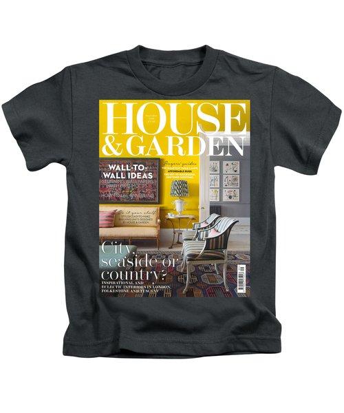 House And Garden September Kids T-Shirt