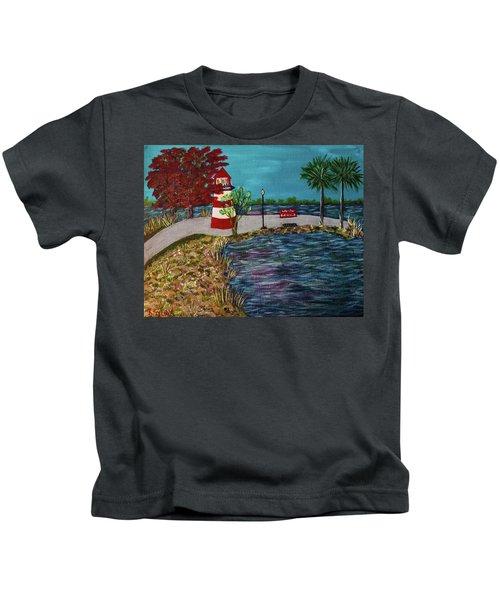 Mount Dora Lighthouse Kids T-Shirt
