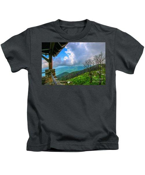 Observation Tower View Kids T-Shirt