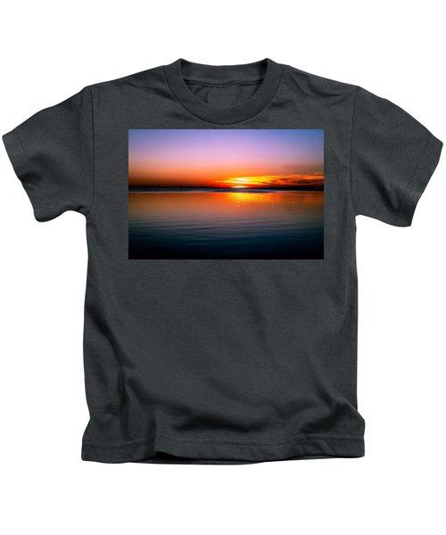Spectacular Sunset Kids T-Shirt