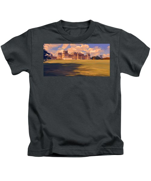 The White Party Tent Along Blenheim Palace Kids T-Shirt