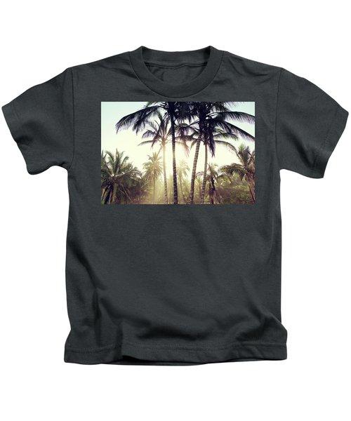 Ticla Palms Kids T-Shirt