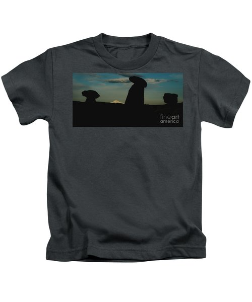 Turkish Landscapes With Snowy Mountains In The Background Kids T-Shirt