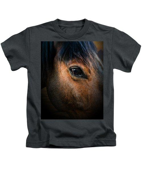 Wild Mustang Love  Kids T-Shirt