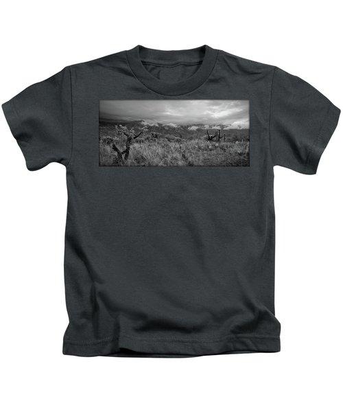 12-26-18 Snow Storm Kids T-Shirt