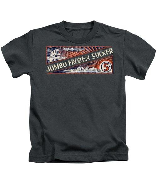1950s Jumbo Frozen Sucker Kids T-Shirt