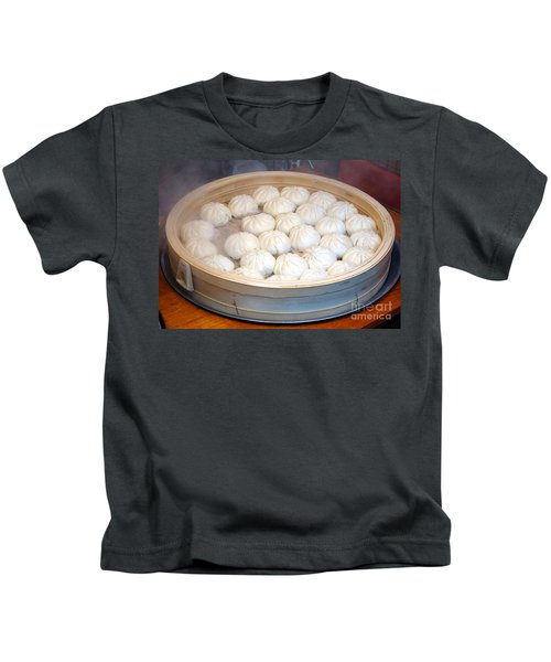 Chinese Steamed Buns Kids T-Shirt