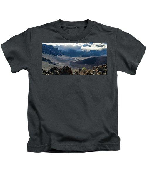 Haleakala Crater Kids T-Shirt