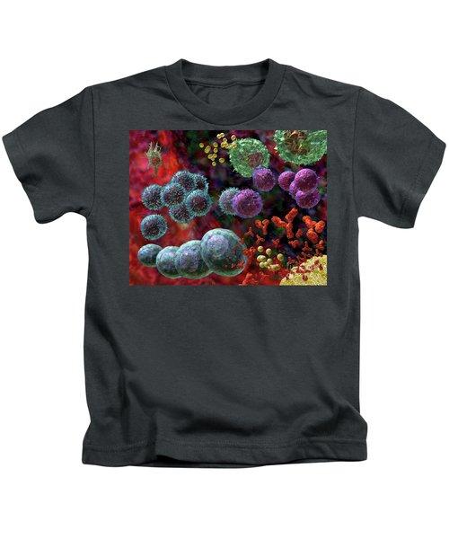 Immune Response Antibody 4 Kids T-Shirt