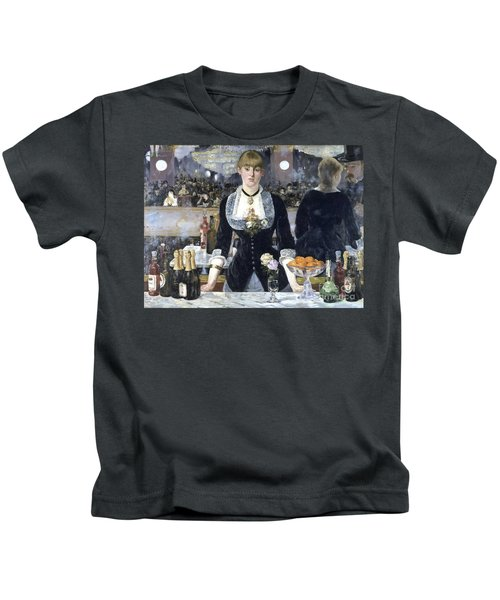 A Bar At The Folies Bergere Kids T-Shirt
