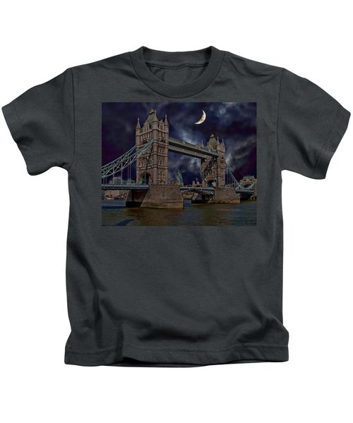 London Tower Bridge Kids T-Shirt