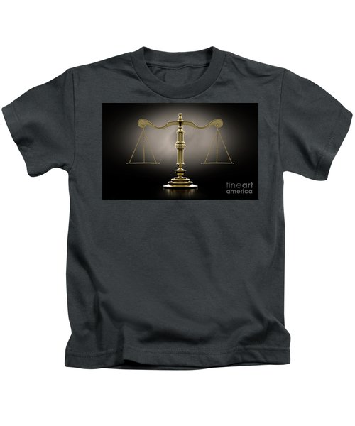 Scales Of Justice Dramatic Kids T-Shirt