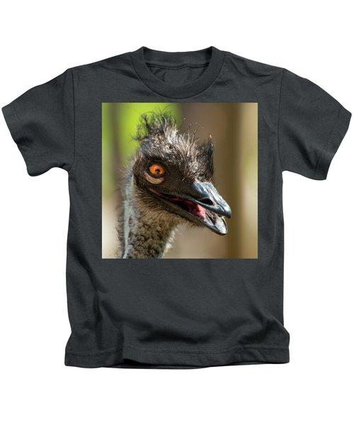 Australian Emu Outdoors Kids T-Shirt