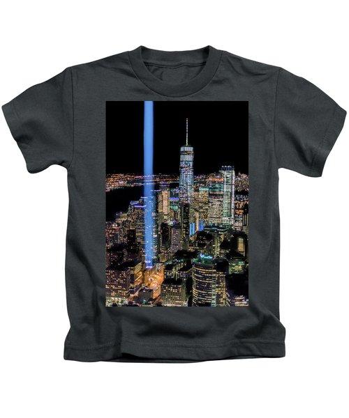 911 Lights Kids T-Shirt