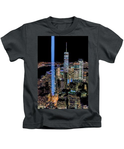911 Lights Kids T-Shirt