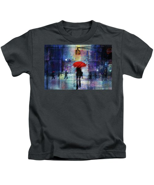 A Christmas In The City Kids T-Shirt