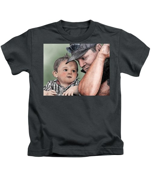 A Conversation With Daddy  Kids T-Shirt